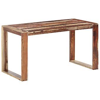 tavolo da pranzo vidaXL 140 x 70 x 76 cm legno massello