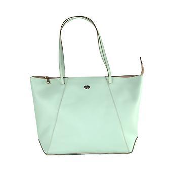 Light green shopping bag