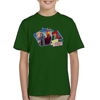 Blippi Dinosaurs Wow Look At That Kid's T-Shirt