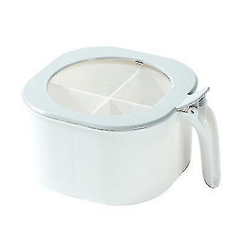 Kitchen Seasoning Box Creative Seasoning Jar Condiment Sugar Bowl Salt Jar Compartment