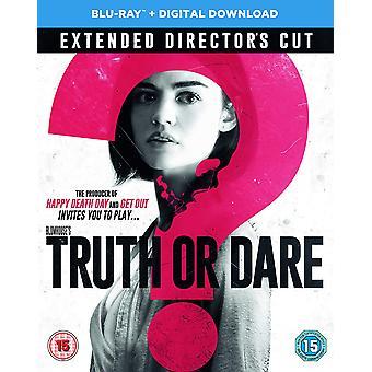 Truth or Dare Blu-ray Téléchargement numérique
