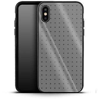 Dot Grid grey by caseable Designs Luxury Phone Case Apple iPhone XS Max