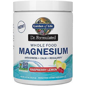 Dr. Formulated Whole Food Magnesium, Raspberry Lemon - 421 grams