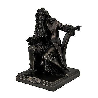 Bronze Finish Moliere Master of Comedy Actor Statue