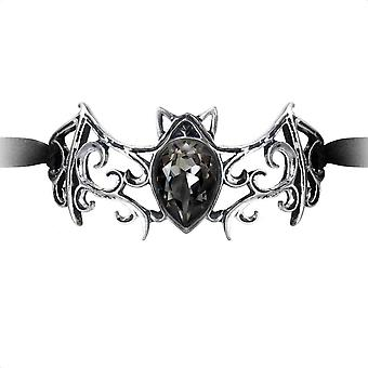 Alchemy Gothic Viennese nätter rulla Bat band armband