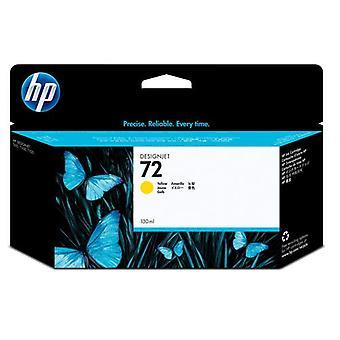 HP 72 130 ml DesignJet tintapatron, sárga, Pigment alapú tinta, 130 ml, 1 darab