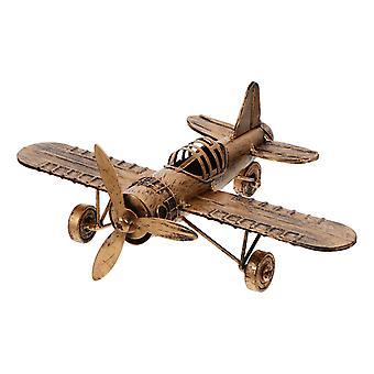 Creative Plane Model Office Desktop Iron Model Plane Decoration Furniture Decor