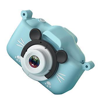 Portable Mini Digital Children Camera, Front And Rear Dual Hd + 32gb Camera