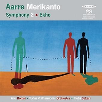 Merikanto / Komsi / Turku Pco / Sakari - Symphony 2 & Ekho [SACD] USA import