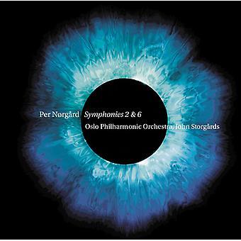 Norgard, Per / Oslo Philharmonic Orchestra - Per Norgard: Symphonies Nos. 2 & 6 [SACD] USA import