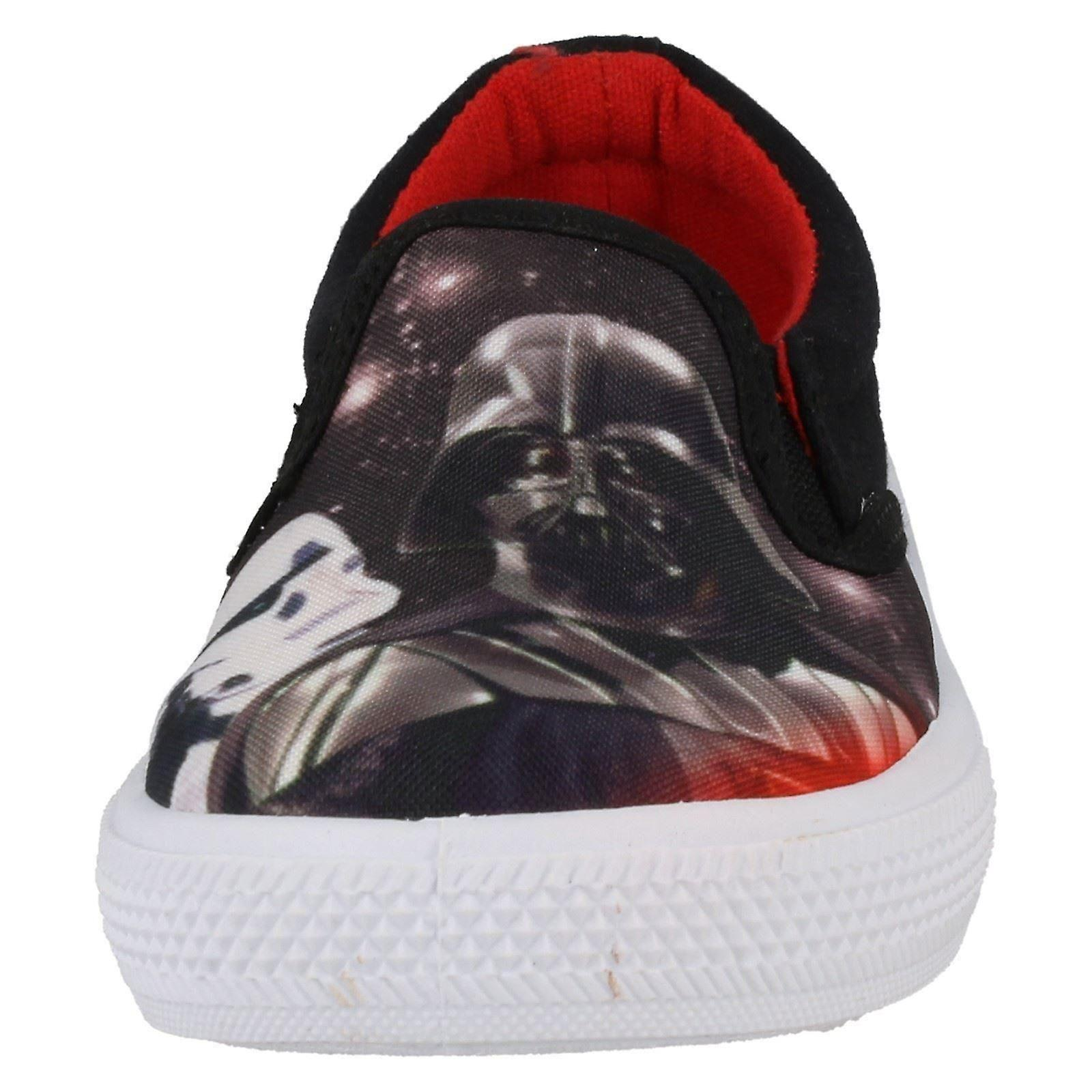 Garçons Star Wars Fairview Slip On Canvas Chaussures
