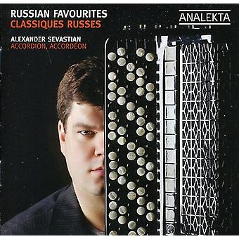 Alexander Sevastian - Russian Favorites [CD] USA import