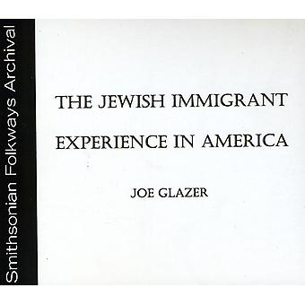 Joe Glazer - Jewish Immigrant Experience in America [CD] USA import