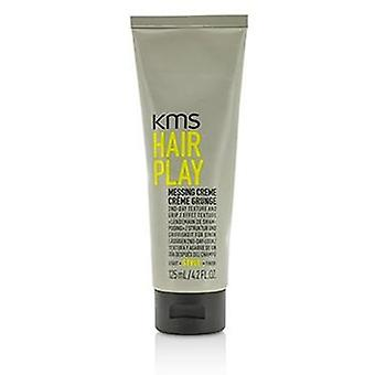 Kms California Hair Play Messing Creme (provides 2nd-day Texture And Grip) - 125ml/4.2oz