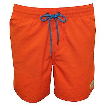 O ' Neill couleur unie Vert Swim Shorts, Deep Sea Coral