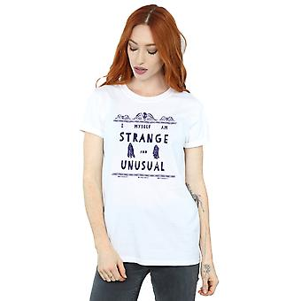 Étrange et inhabituelle Boyfriend Fit T-Shirt Beetlejuice féminin