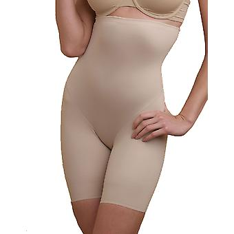 Naomi and Nicole Soft and Smooth Nude Hi-Waist Thigh Slimmer 7759