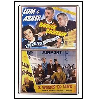 Bashful Bachelor (1942)/2 Weeks to Live (1943) [DVD] USA import