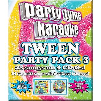 Various Artist - Party Tyme Karaoke: Tween Party Pack 3 [CD] USA import