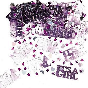 Amscan Confetti - Its A Girl/Its A Boy