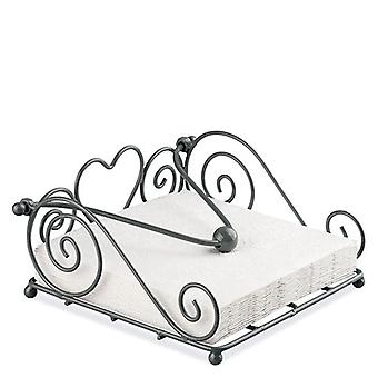 Ambiente Rustical Napkin Holder, Grey