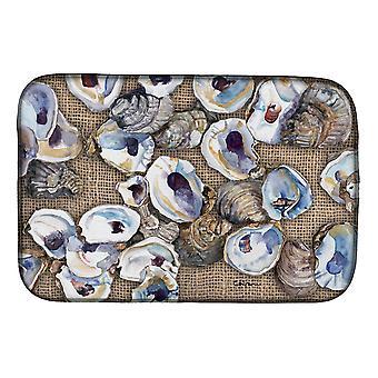 Piatto di ostriche di Carolines tesori 8734DDM essiccazione Mat