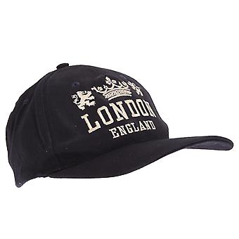 Unisex Navy London England Union Crest Cap
