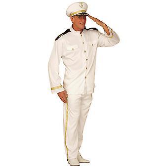 Costume capitaine (veste pantalon chapeau)