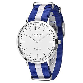 MADISON nova YORK têxtil de Avenida de relógio de pulso L4741F1 Mens watch