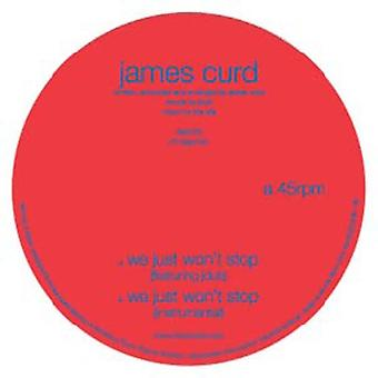 James Curd - We Just Won't Stop [Vinyl] USA import