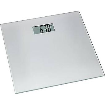 TFA Dostmann Tango Digital bathroom scales Weight range=150 kg Silver