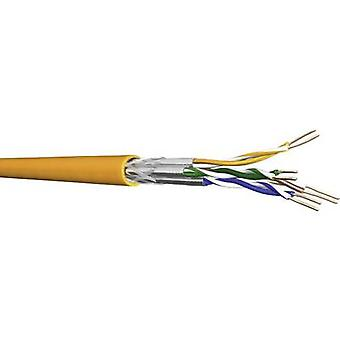 DRAKA 1001036-00250DW Network cable CAT 7 S/FTP 4 x 2 x 0.25 mm² Orange Sold per metre