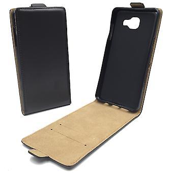 Mobile phone case pochette pour mobile Samsung Galaxy A5 2016 noir