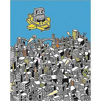 Robots 1 art print Ghica Popa small format