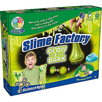 Science 4 You, Slime Factory Glow in Dark Slime Kit