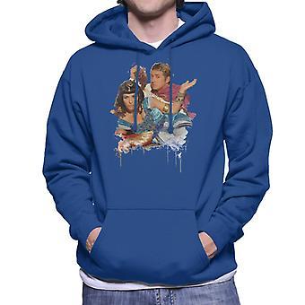 TV Zeiten Kat und Alfie Eastenders Männern das Sweatshirt mit Kapuze