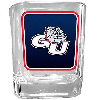 Gonzaga Bulldogs NCAA Logo tourné verre