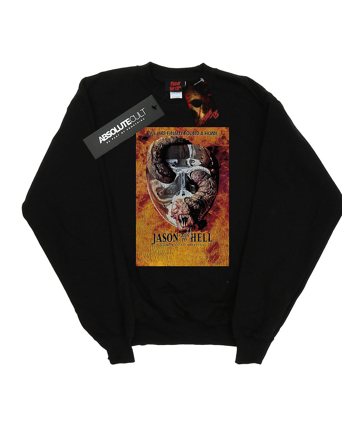Friday The 13th Women's Jason Goes To Hell Sweatshirt