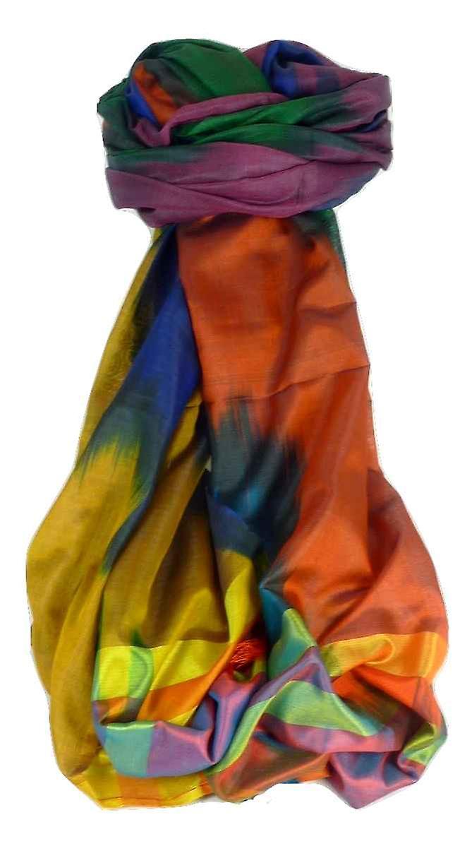 Varanasi Ekal Premium Silk Long Scarf Heritage Range Tiwari 10 by Pashmina & Silk
