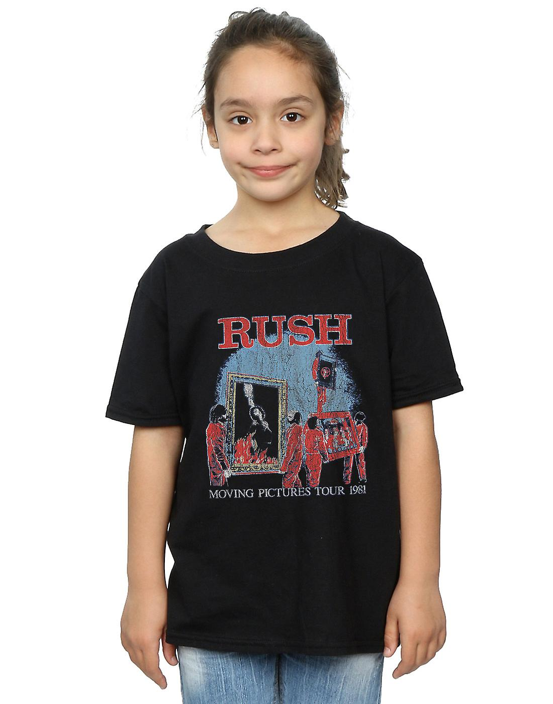 Rush Girls Moving Pictures Tour T-Shirt