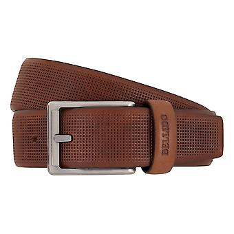 MIGUEL BELLIDO clasico belts men's belts leather belt Brown 7691