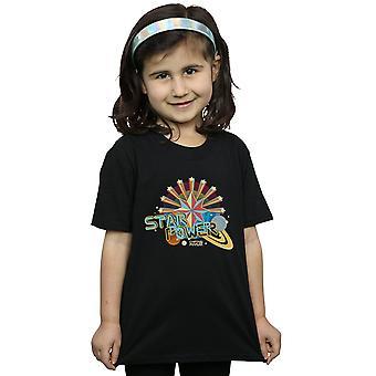 Marvel Girls Kaptan Marvel Star Güç T-Shirt