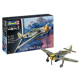 Revell 03898 Focke Wulf Fw190 F-8 1: 72 malli pakki