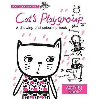 Groupe de jeu du chat: un livre de dessin et colorant (Wee Gallery)