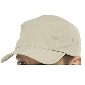 Tom Franks Beige Lightweight Cap With Folding Peak