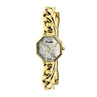 Bertha Ethel doamnelor ceas elvețian brățară-de aur