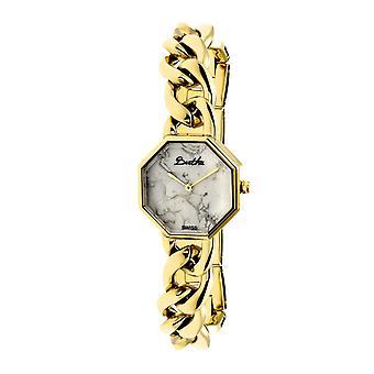 Bertha Ethel Ladies Swiss Bracelet Watch - Gold