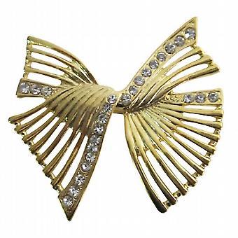 Kaufen Sie die neuesten künstlerisch gestaltete Schärpen Goldener Bogen Kleid Brosche