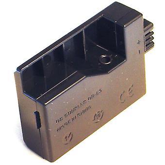 Accoppiatore di batteria per Canon DR-E5 DRE5 3072B001 Digital Rebel XS Xsi EOS 1000D 450D D 500 D Kiss F X2 X3 T1i CA-PS700 ACK-E5