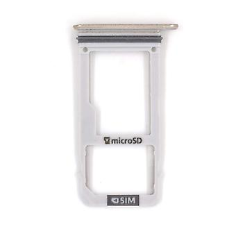 Single Sim-Sd Card holder for Samsung Galaxy A320F A320FD A320YD A320Y-A3 A320 Gold
